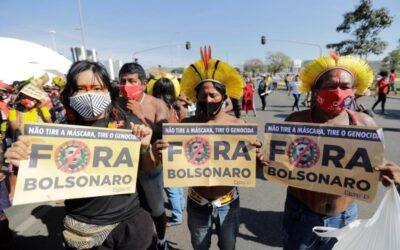 La izquierda vuelve a salir a la calle en Brasil contra Bolsonaro