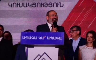 Armenia: Pashinián canta victoria y su rival se prepara para impugnarla