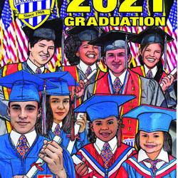 2021: An unforgettable graduation. Una graduación inolvidable: la de 2021