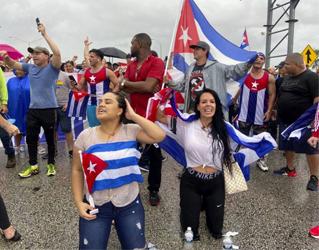 EN CIUDADES TEMPLOS DEL EXILIO. MAREJADAS DE APOYO DEL EXILIO A LA LUCHA DEL PUEBLO POR LA LIBERTAD EN CUBA