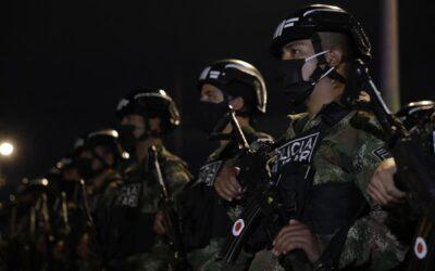 Despliegan más de 350 policías militares para reforzar la seguridad de Bogotá