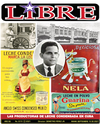 LAS PRODUCTORAS DE LECHE CONDENSADA EN CUBA