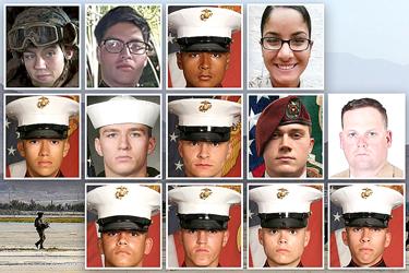 13 soldados de la libertad muertos en las últimas horas de la guerra de Afganistán